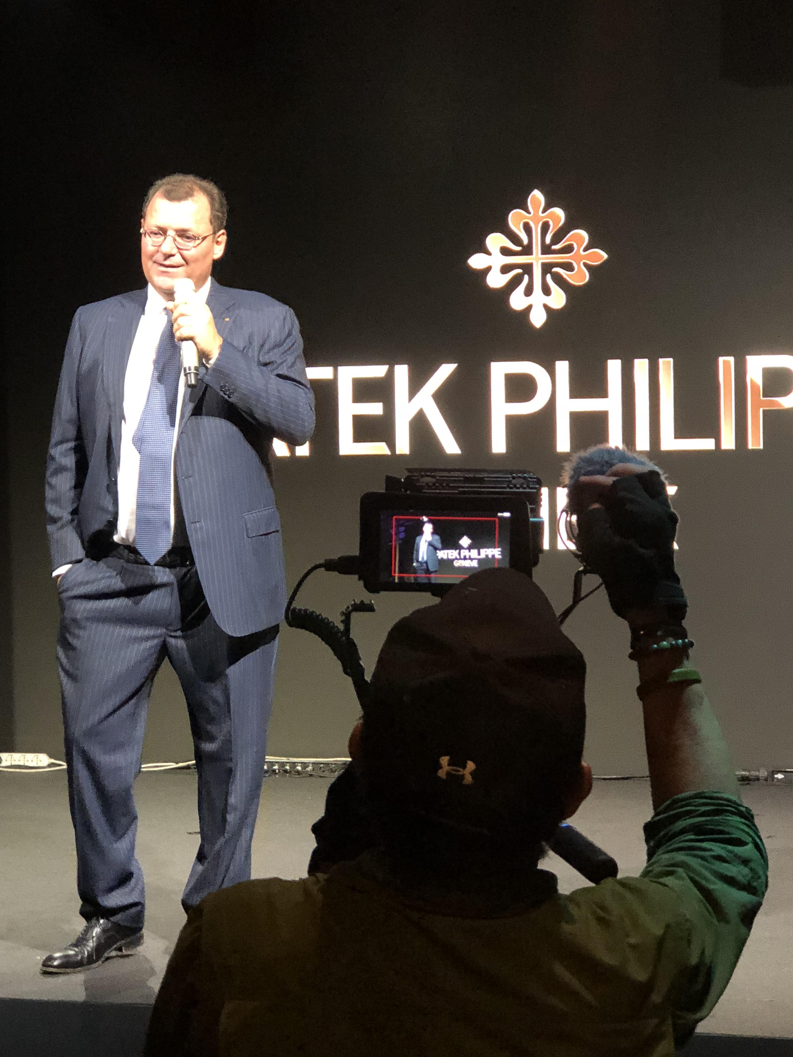 Thierry Stern, President, Patek Philippe