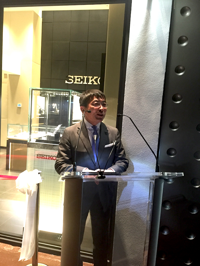 Akio Naito, Chairman of Seiko Corporation of America