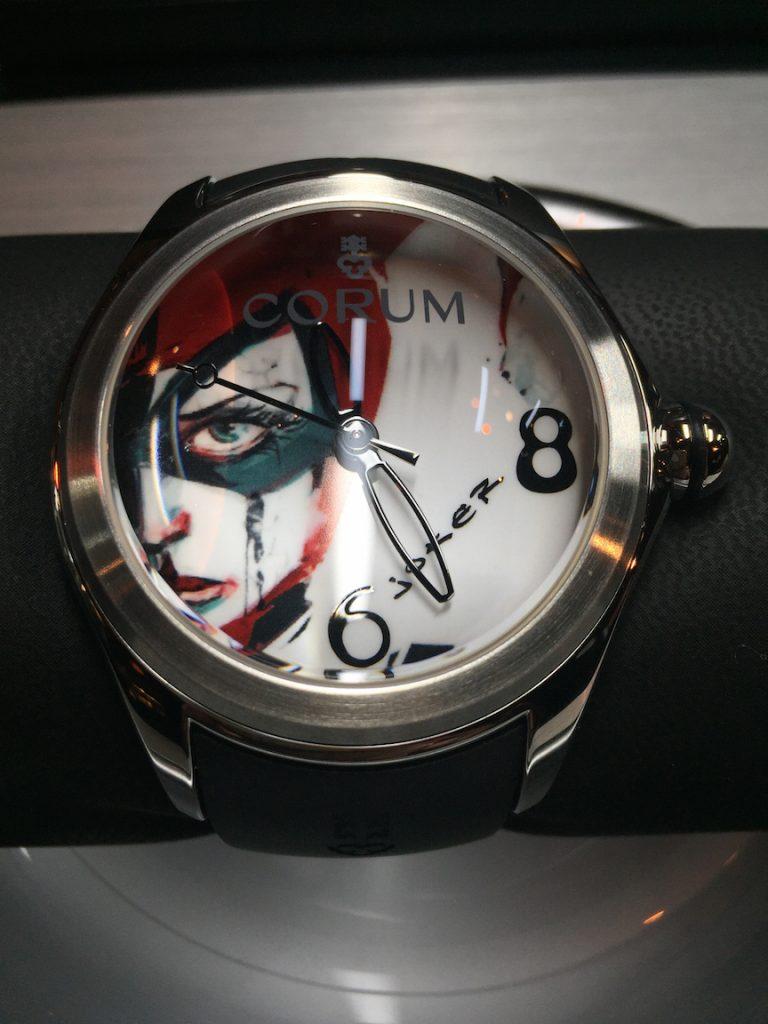 Corum Bubble Game watch: Joker
