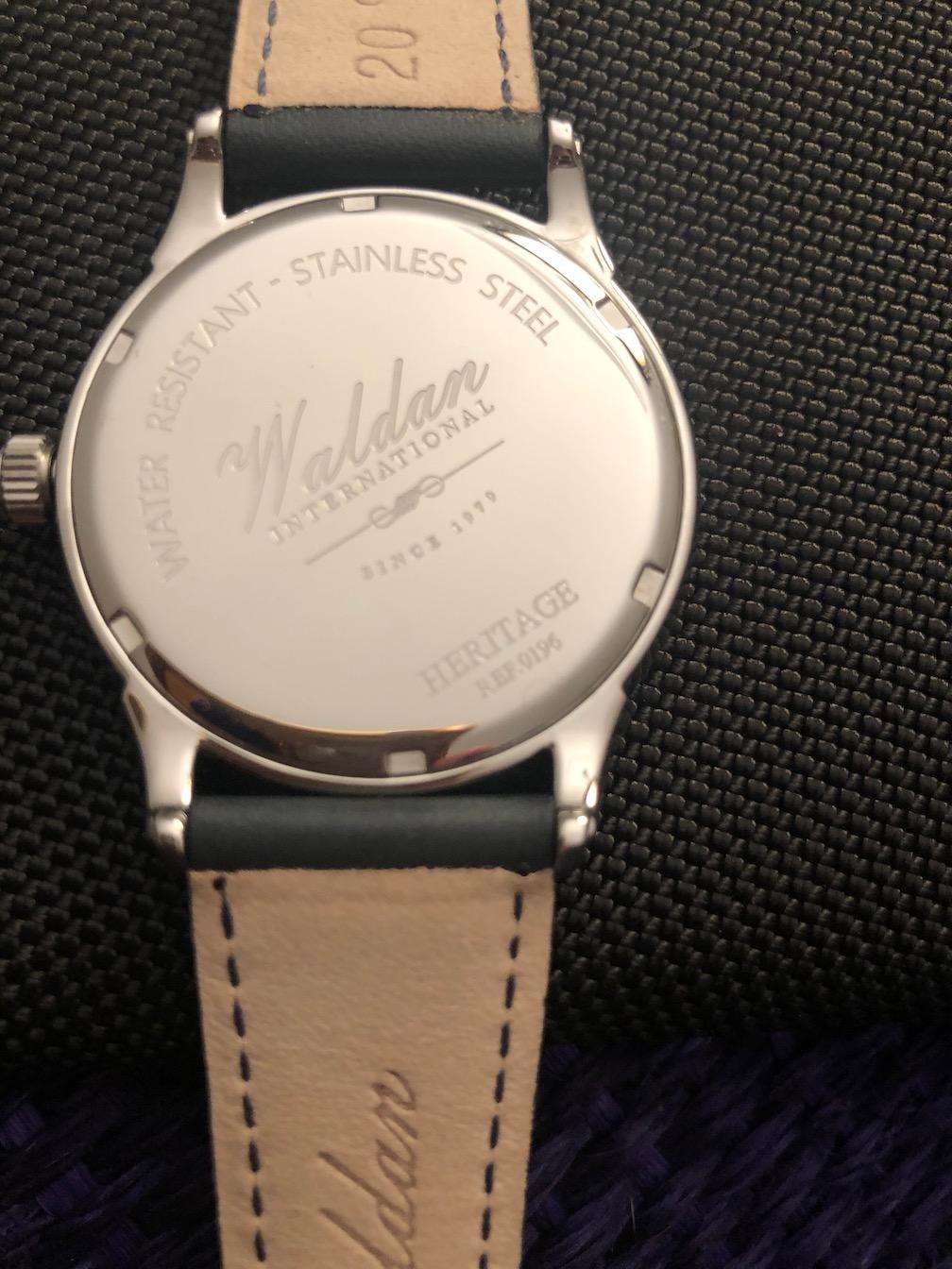 Waldan Heritage watches made in America