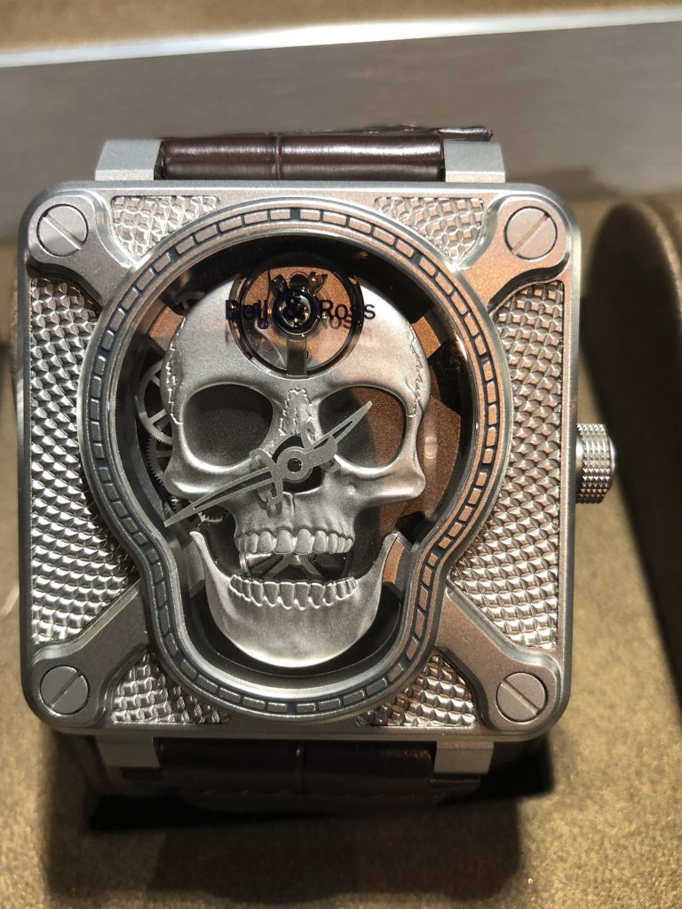 Bell & Ross Skull watch