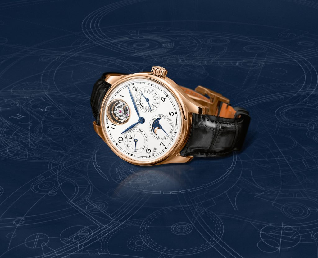 IWC Portugieser Perpetual Calendar Tourbillon Limited Edition 150 Years watch