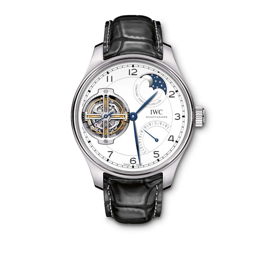 The IWC Portugieser Constant-Force Tourbillon Limited Edition 150 Years watch retails for just about $243,000.