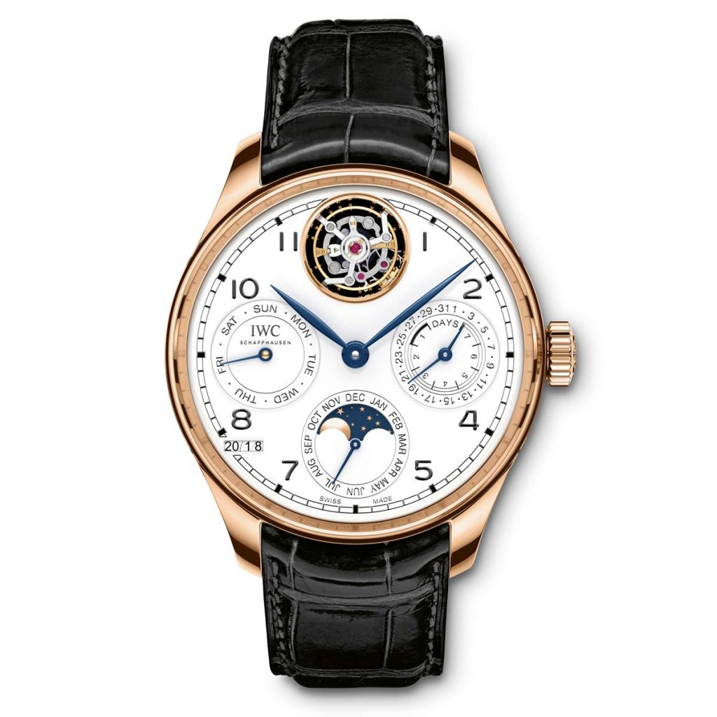 IWC Portugieser Perpetual Calendar Tourbillon as seen at SIHH 2018.