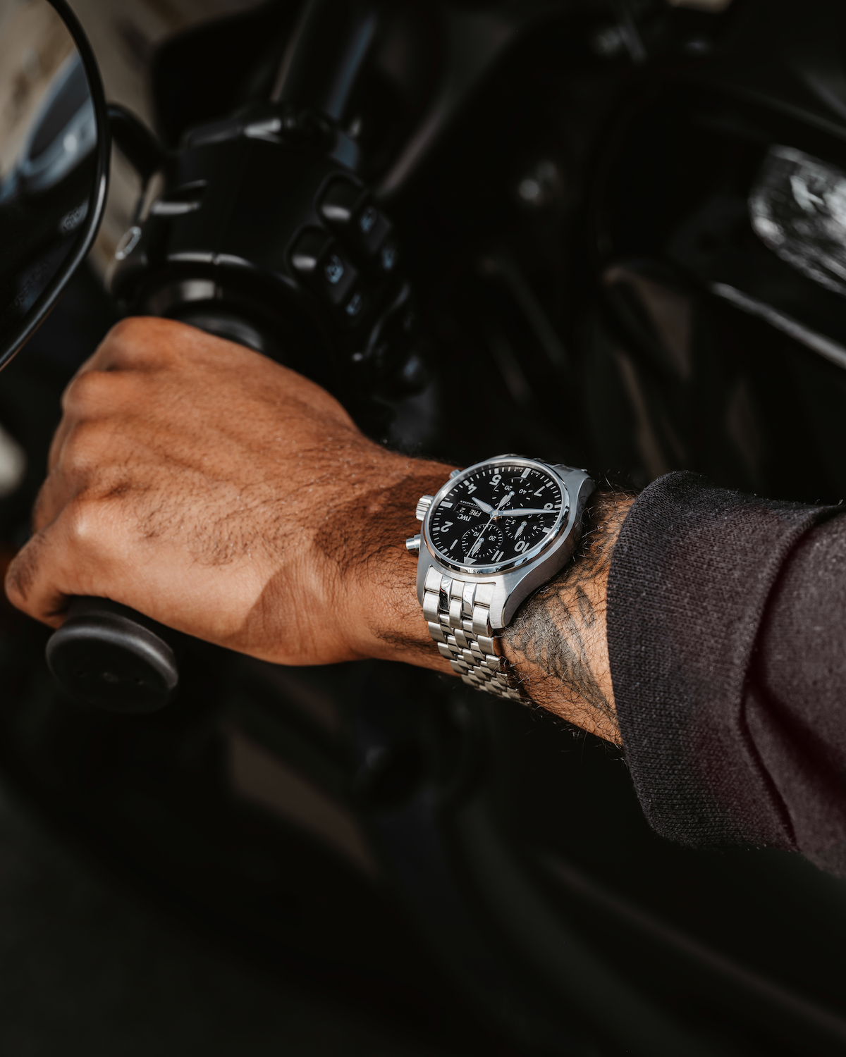 The C.03 collaborative Pilot's Watch Chronograph with IWC