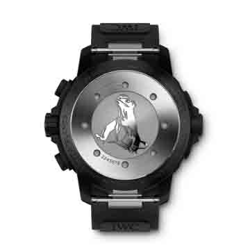 The Galapagos Islands Edition has the iguana engraved on thecaseback.