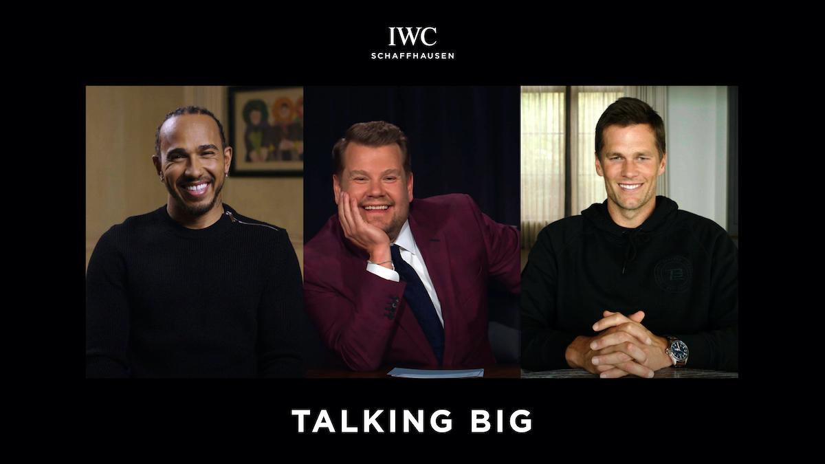 IWC, Lewis Hamilton, Tom Brady