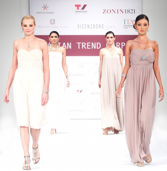 Italian Trends Red Carpet runway during the Vegas shows.