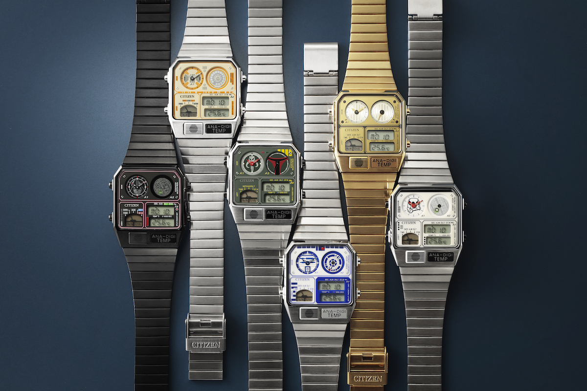 Citizen unveils new Ana-Digi watches in honor of Star Wars.