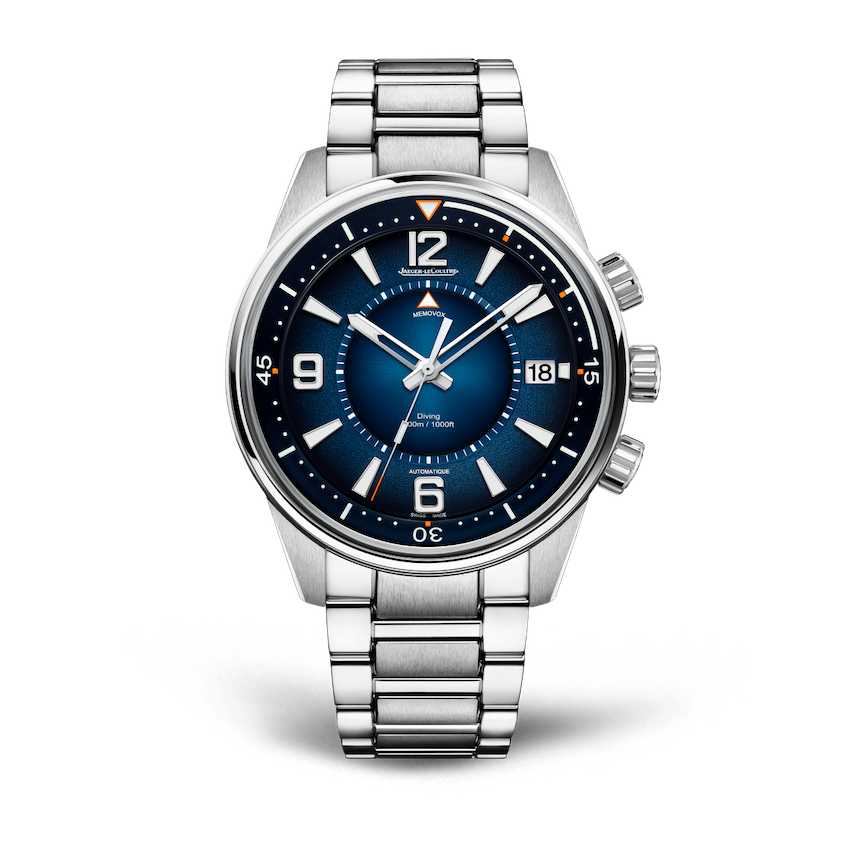 Jaeger-LeCoultre Polaris Mariner dive watches.