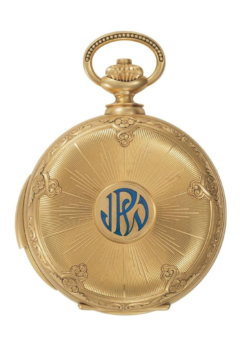 The 1927 James Ward Packard pocket watch is also on display at the Patek Philippe Art of Watches Grand Exhibition in New York.