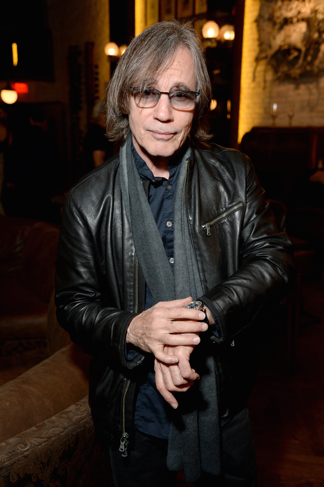 """Singer-songwriter Jackson Browne attends BOVET 1822 & Artists for Peace and Justice Present """"Songs From the Cinema"""" Benefit on February 23, 2017 in Los Angeles, California. (Photo by Michael Kovac/Getty Images for Artists for Peace and Justice) *** Local Caption *** Jackson Browne"""