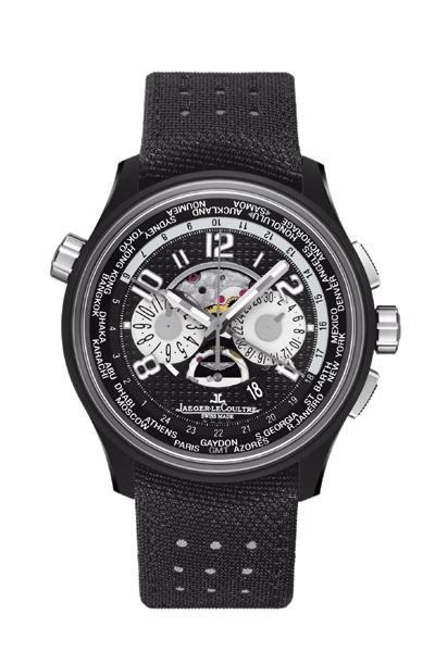 Jaeger-LeCoultre AMVOX5 World Chronograph ceramic titanium