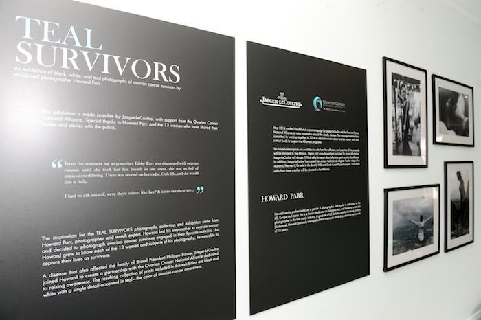 TEAL SURVIVORS (Howard Parr) photograph exhibit at the Jaeger-LeCoultre Beverly Hills Boutique