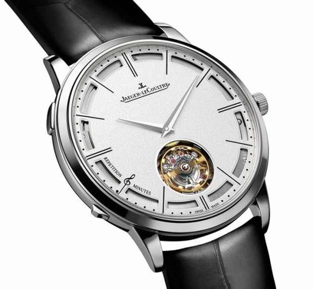 Jaeger-LeCoultre Hybris Mechanica Eleven set the record for thinnest minute repeater (with flying tourbillon)