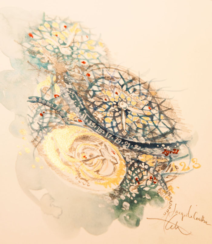 Jaeger-LeCoultre Master Gyrotourbillon 1 interpreted by Katie Rodgers (Photo, Anna Cone)