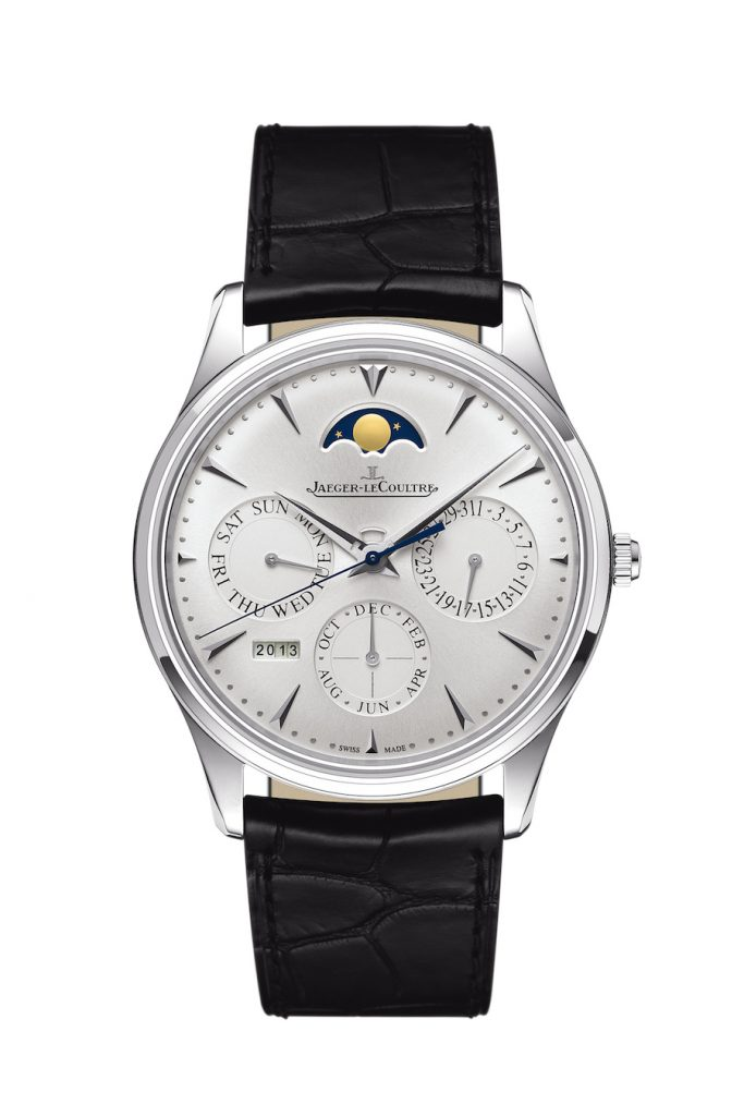 Doctor Strange in the new Marvel Studios movie wears a Jaeger-LeCoultre Master Ultra-Thin Perpetual Calendar watch