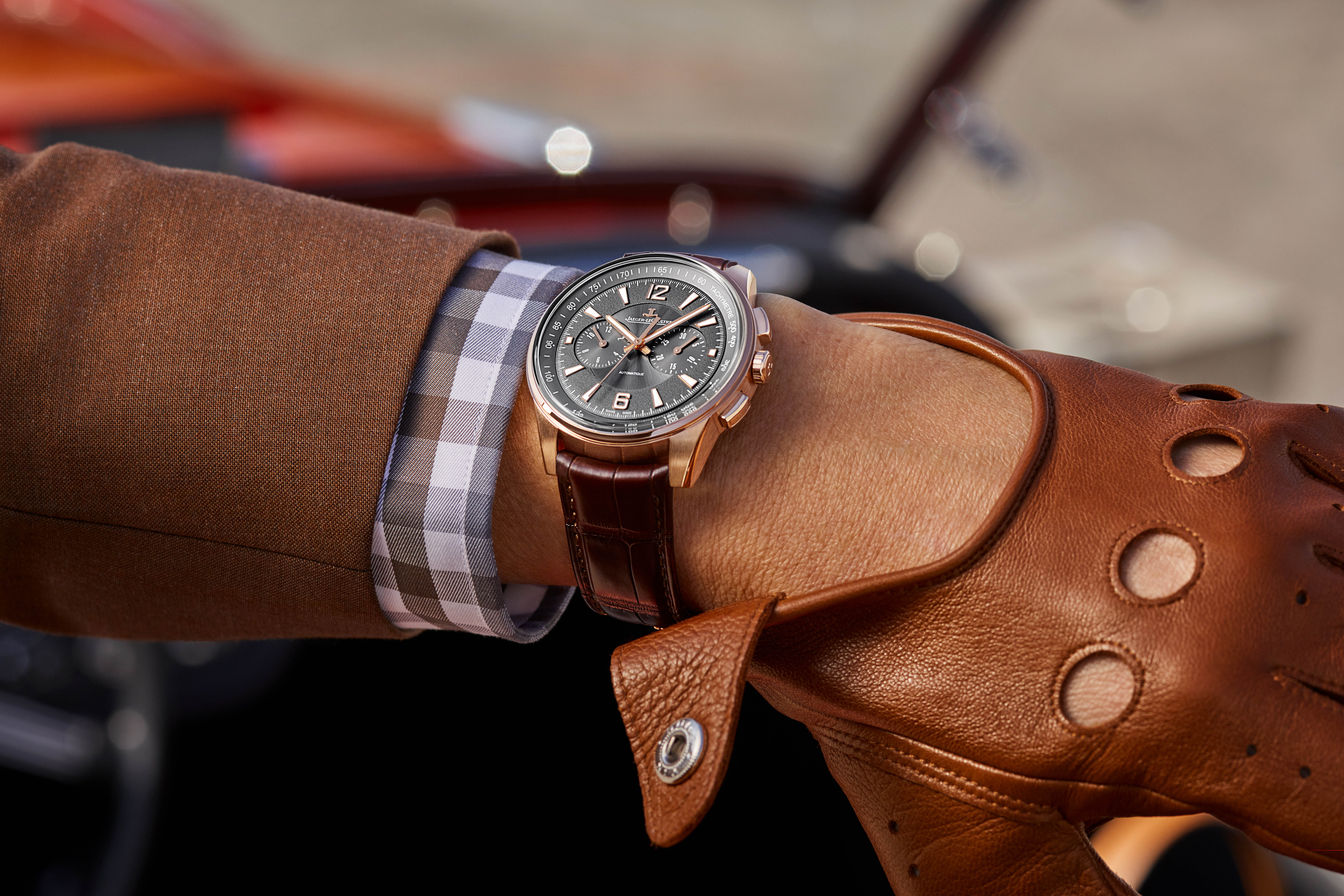 Jaeger-LeCoultre Polaris Chronograph in 18-karat pink gold, unveiled at SIHH 2018