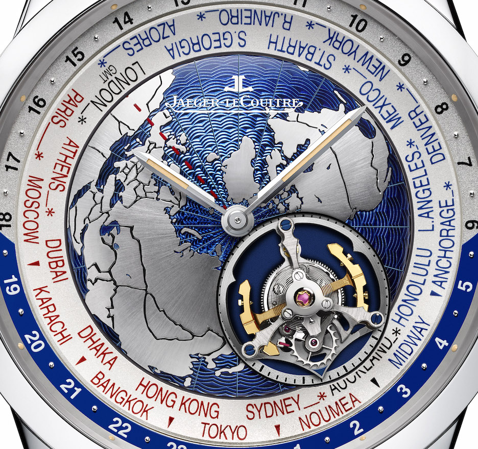 Jaeger-LeCoultre Geophysic Tourbillon Universal Time watch unveiled at SIHH 2017