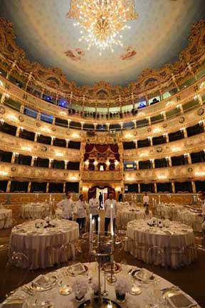 In Venice at Teatro La Fenice Opera House, Jaeger-LeCoultre celebrated its 180th anniversary