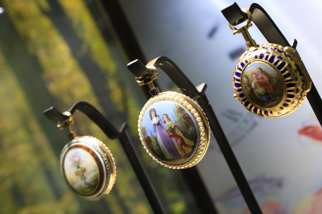 Jaquet Droz is known for its artistic dials.