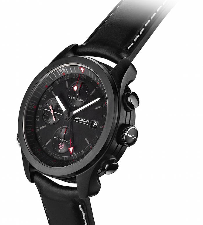 Black DLC Bremont Kingsman watch