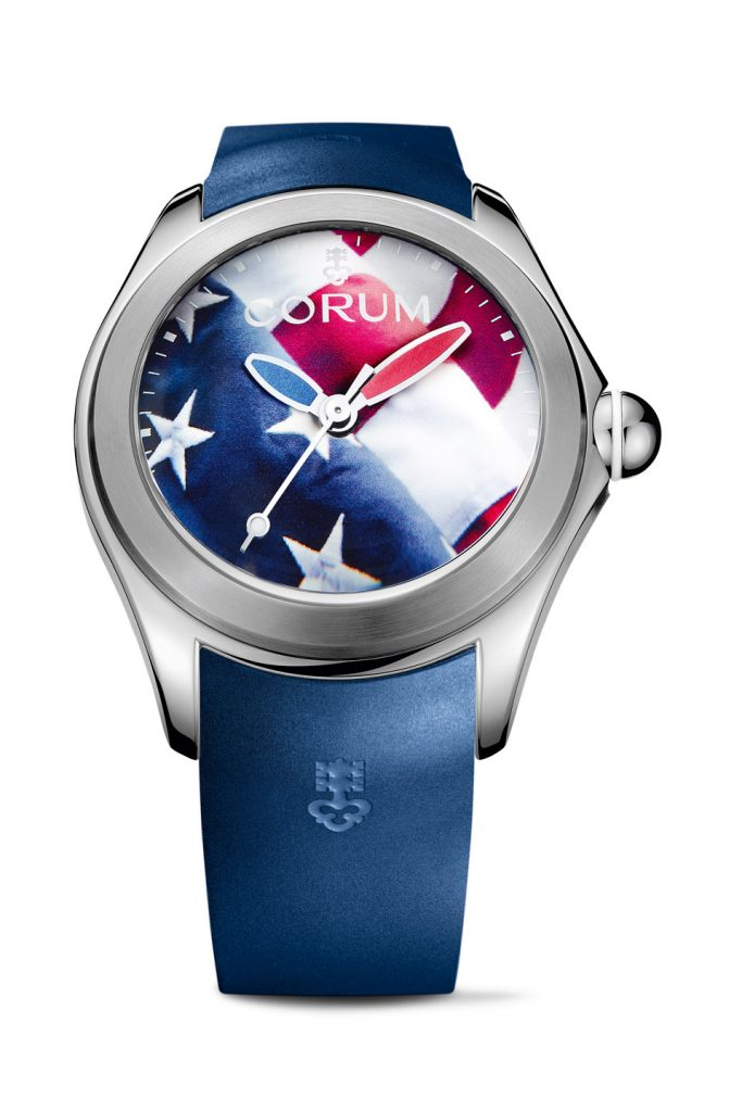 Corum Bubble American Flag 47mm watch is created in limited edition of 87 pieces