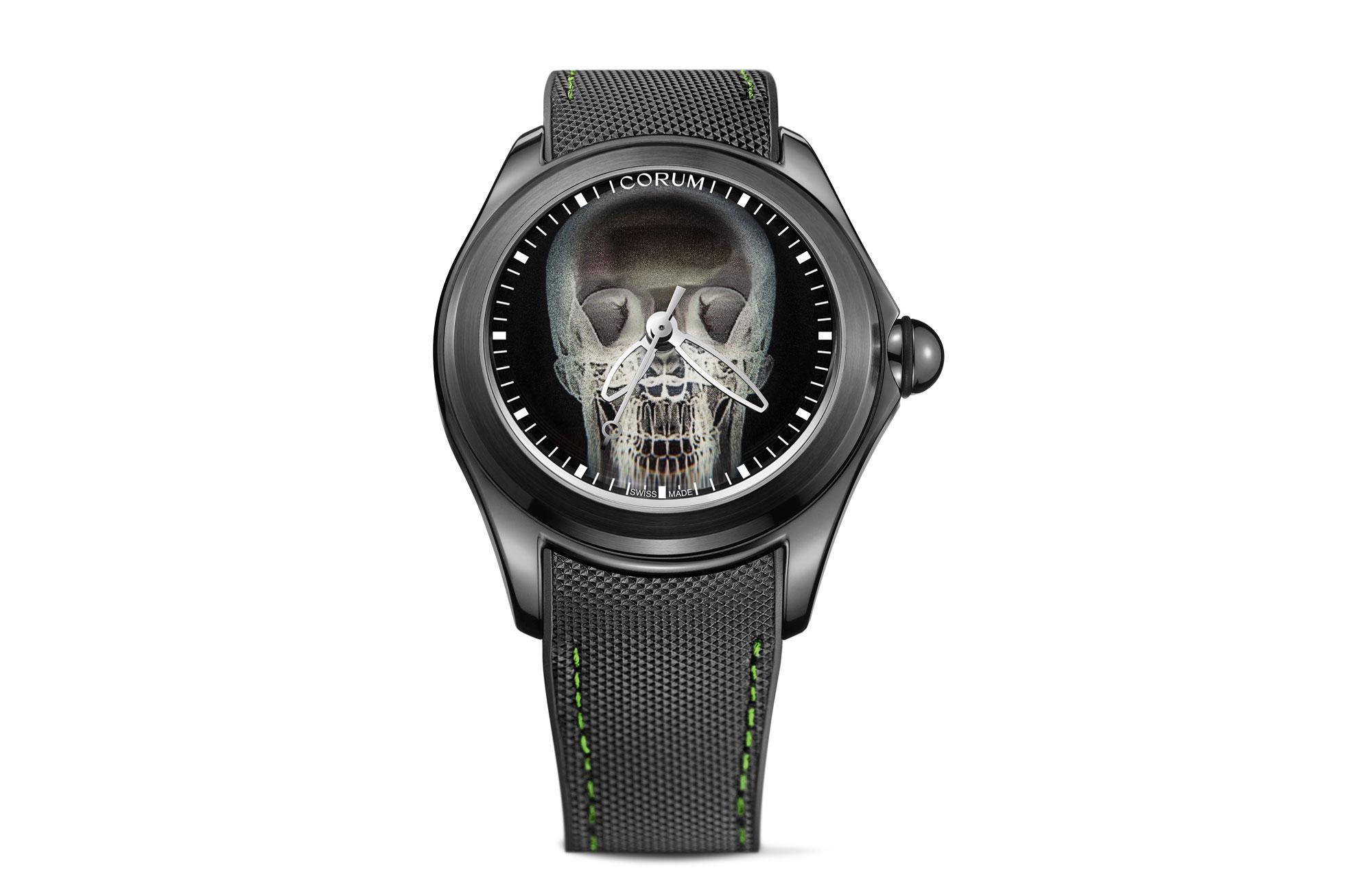 Severin Wunderman, Corum Bubble X Ray watch