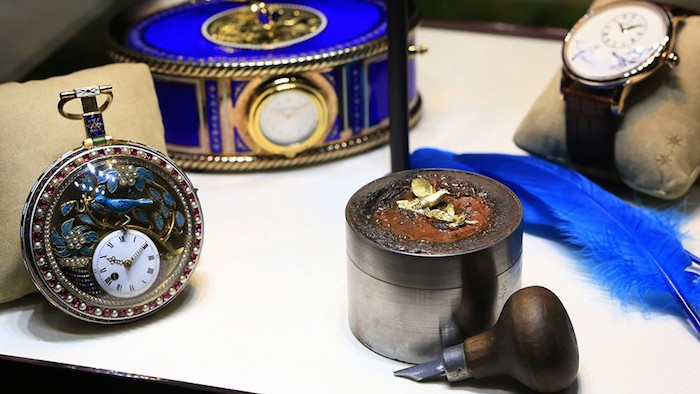Dozens of historic Jaquet Droz timepieces will be on display in Las Vegas.
