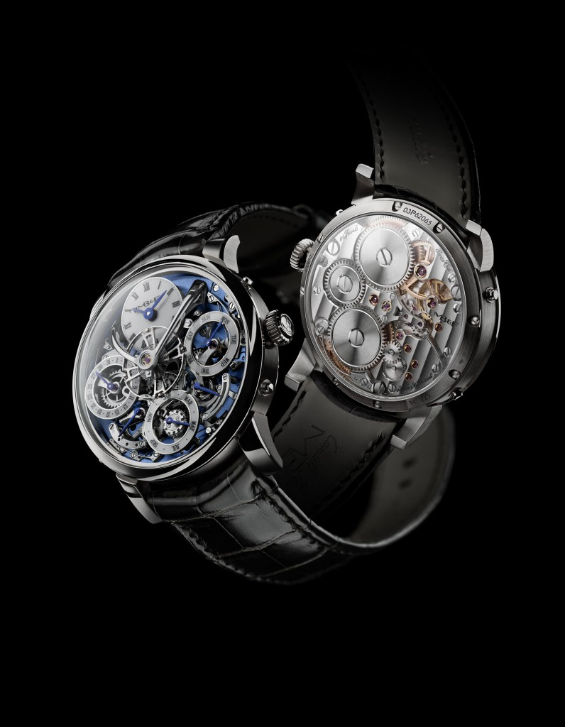 TMB&F Legacy Perpetual Calendary watch, with 581-part movement