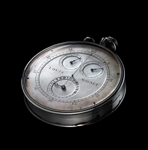 Loius Moinet Compteur de Tierces built in 1815-1816 is a true chronograph
