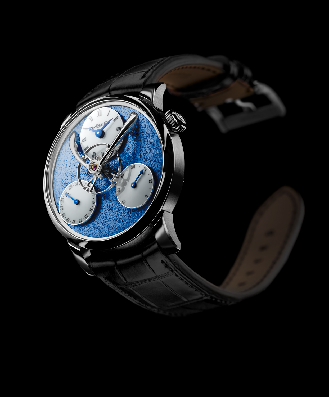MB&F Legacy Machin Split Escapement watch