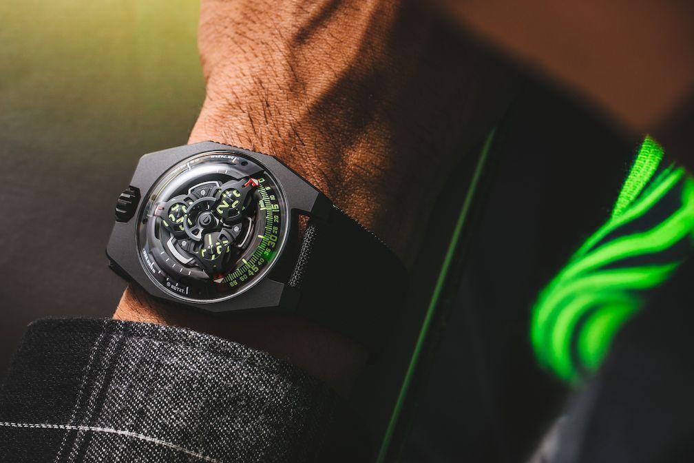 Urwerk UR-100 SpaceTime watch