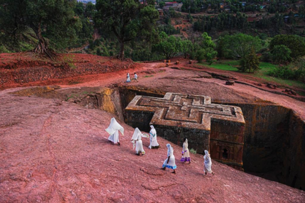 Lalibela, Ethiopia @Steve McCurry