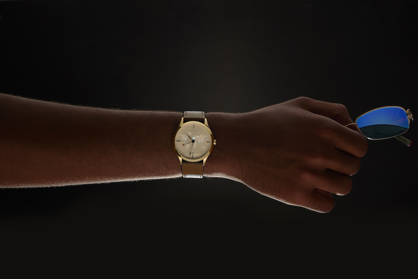 CuleM Lights GMT watch