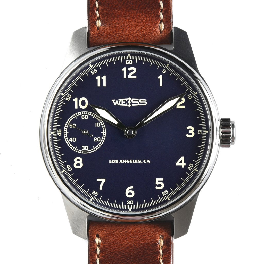 Weiss Limited American Issue Dark Blue watch