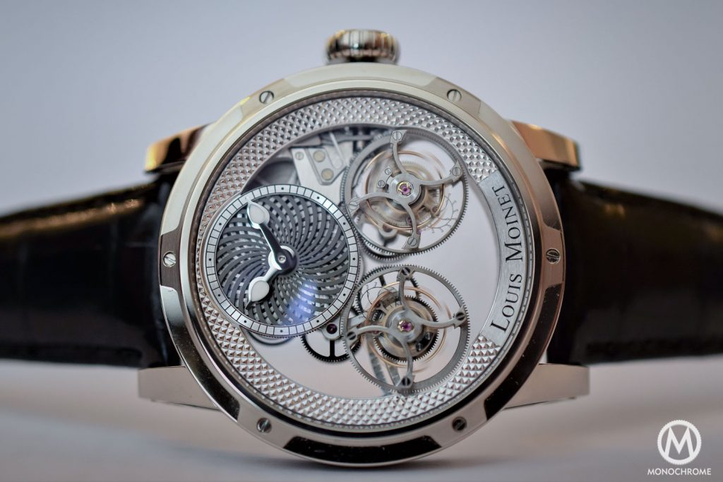 Louis Moinet Mobilis Double Tourbillon Kaleidocope photo, as taken by our friends at Monochrome.