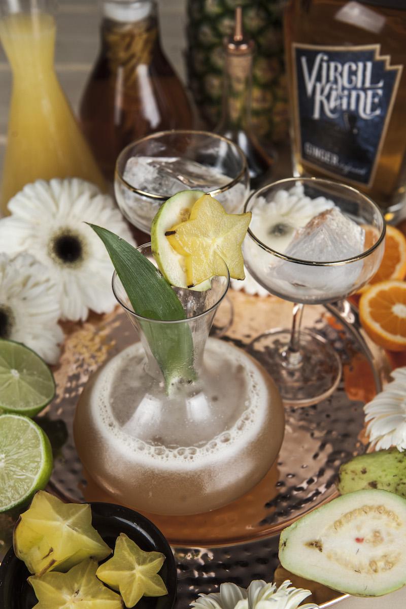 Virgil Kaine Lowcountry Hurricane Cocktail