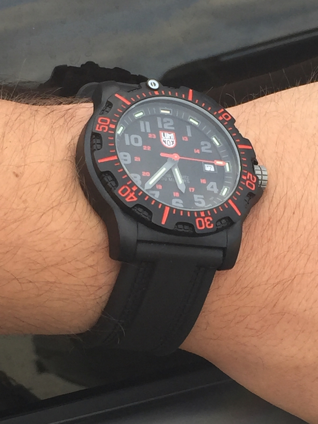 Luminox Black Ops Carbon 8815 watch