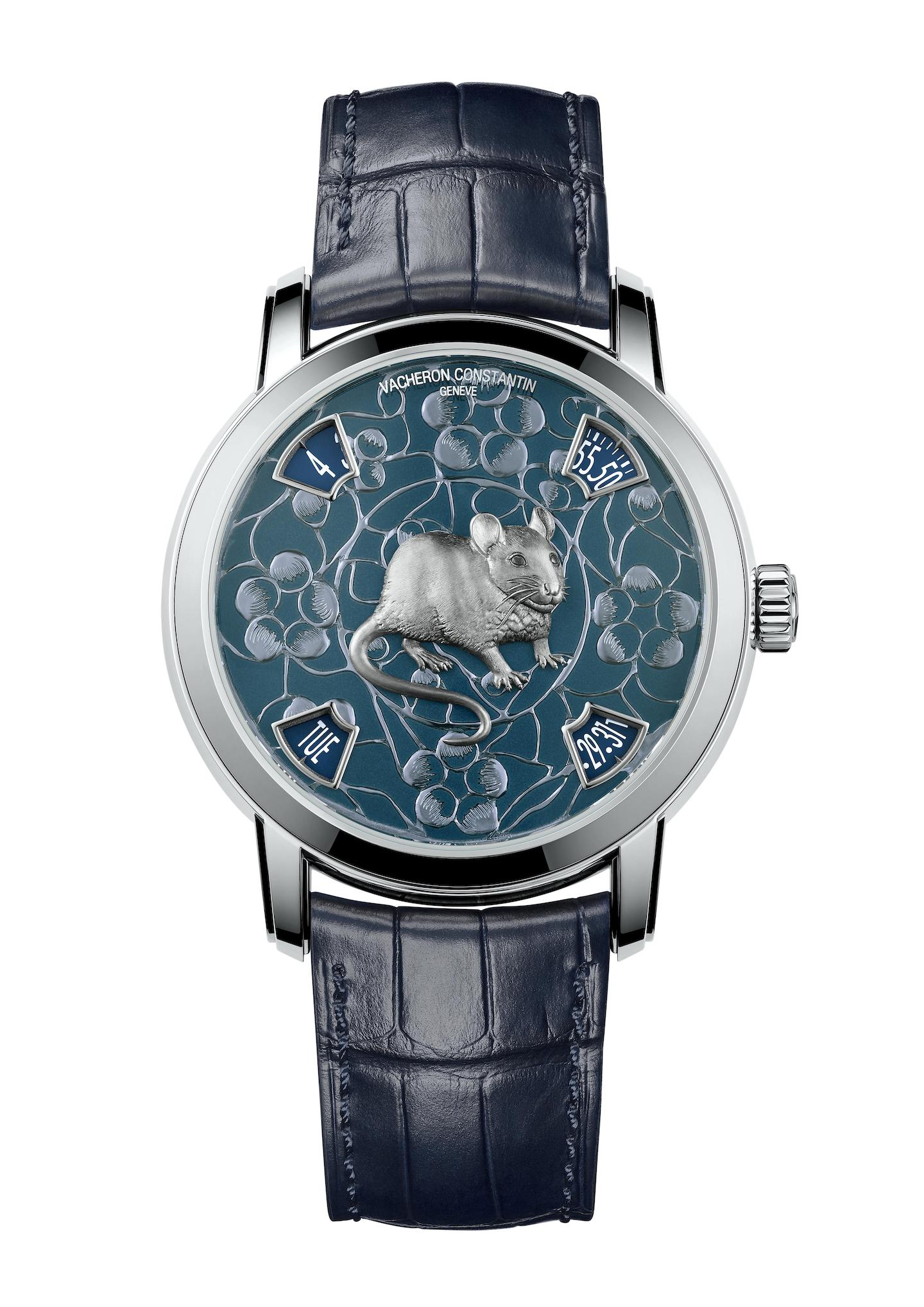 Vacheron Constantin Zodiac Chinese Year of the Rat 2020 Metiers d'Art watch.