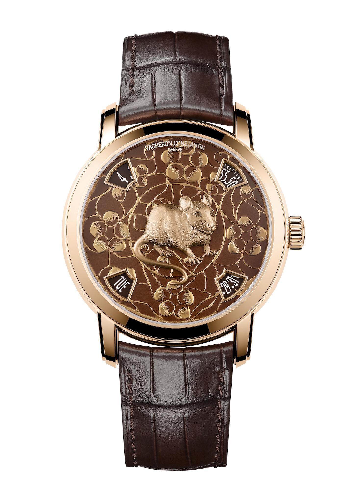 Vacheron Constantin Zodiac Chinese Year of the Rat 2020 Metiers d'Art watch.