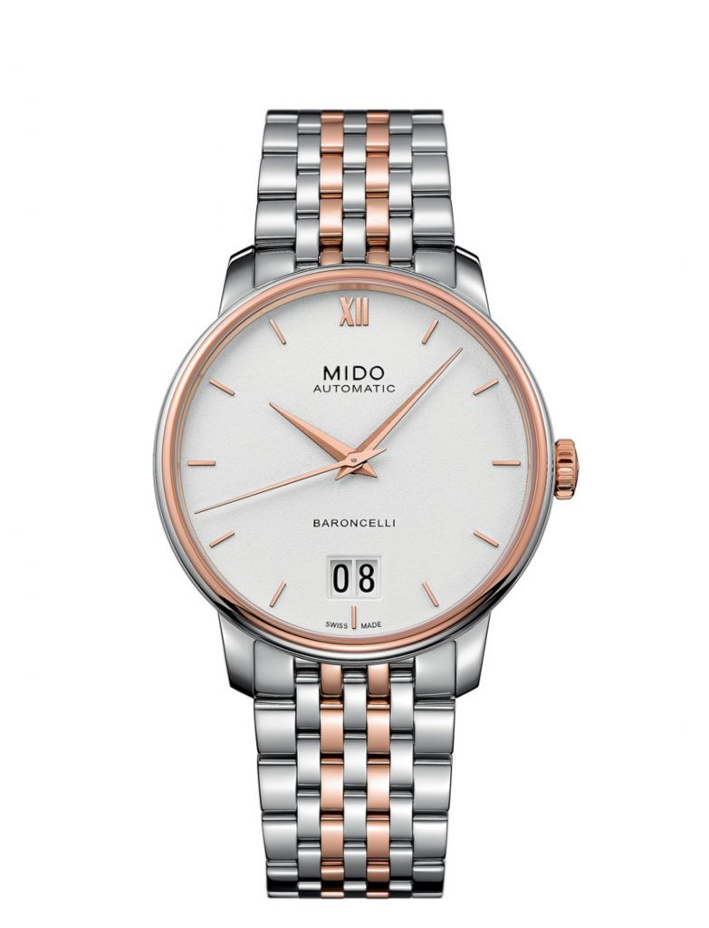 In stores now: Mido Baroncelli Big Date watch
