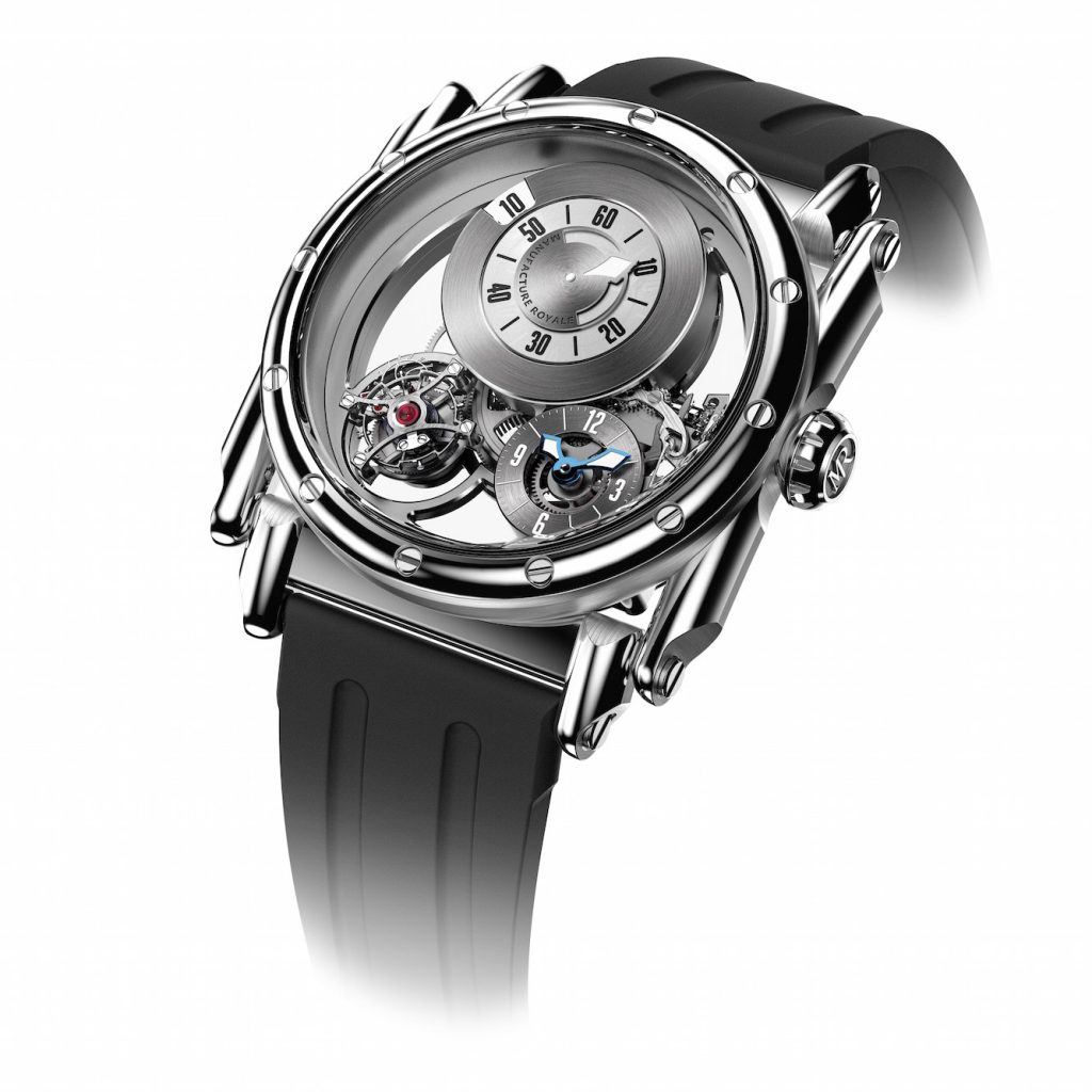 Stainless steel Manufacture Royale ADN watch