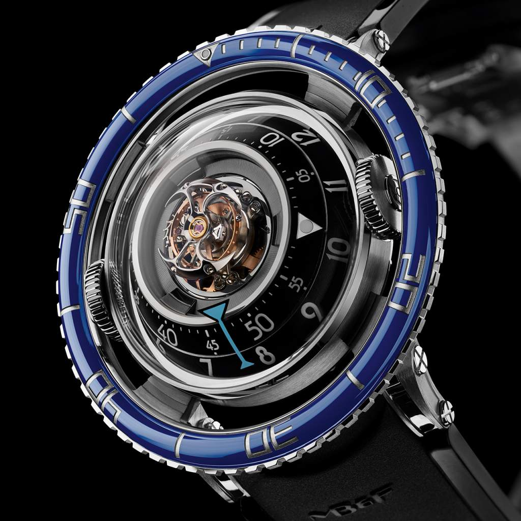 Top Sport watches of 2017:MB&F Horological Machine No. 7 Aquapod