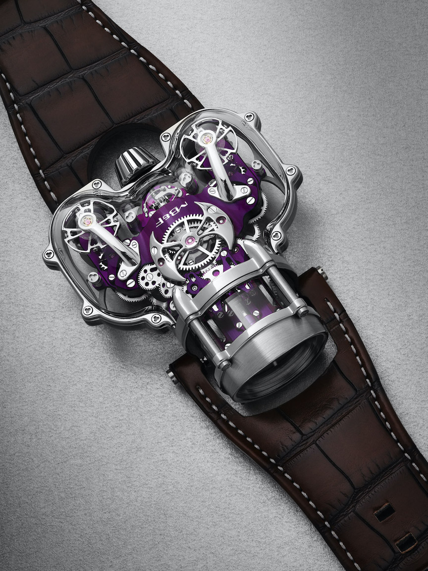 MB&F Horological Machine No. 9 Sapphire Vision
