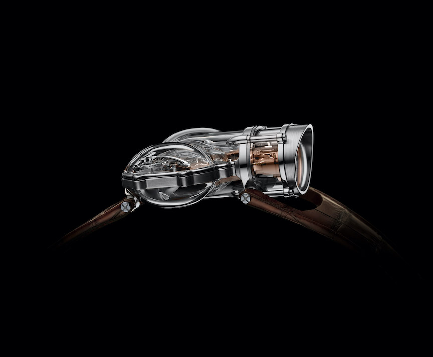 The MB&F Horological Machine No. 9 Sapphire Vision