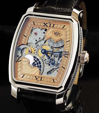 RGM's custom-made watch housing the new Caliber 20.