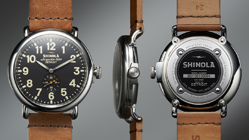 Made-in-America, Shinola's Runwell watch houses the Detroit-assembled Argonite movement
