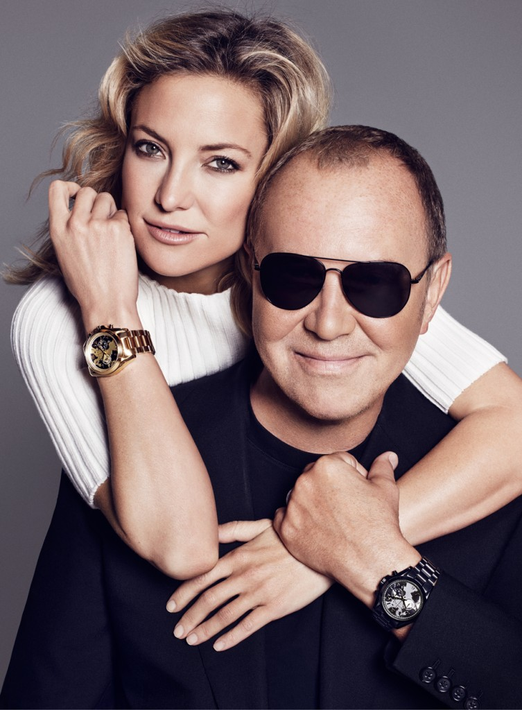 Kate Hudson and Michael Kors