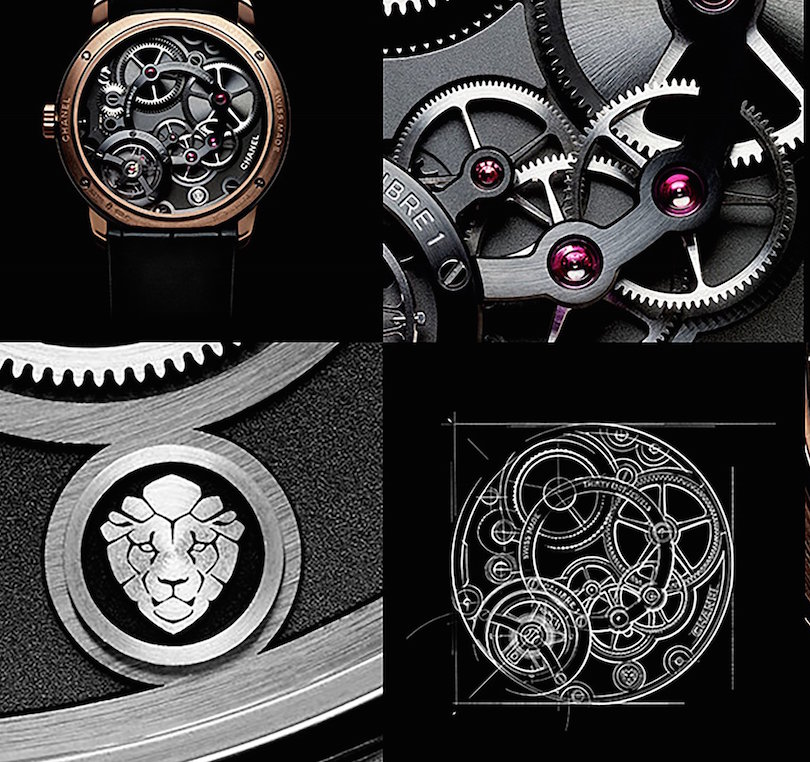 Every detail of the movement and the design has been carefully executed.